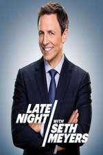 Late Night with Seth Meyers Season 2020 Episode 139